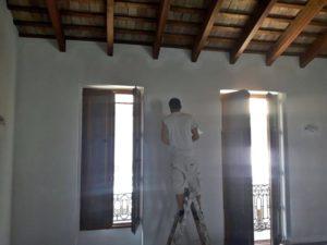 Pintura de casa en Valencia. Calle Mare de Deu.
