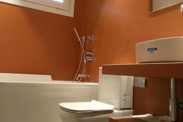 Microcemeto para baños