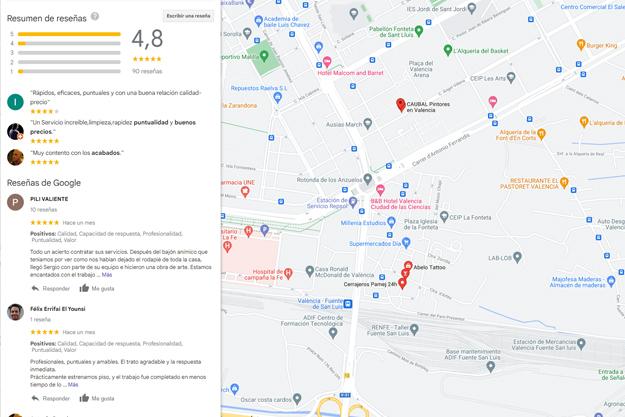 Reseñas y opiniones de clientes Caubal en Google